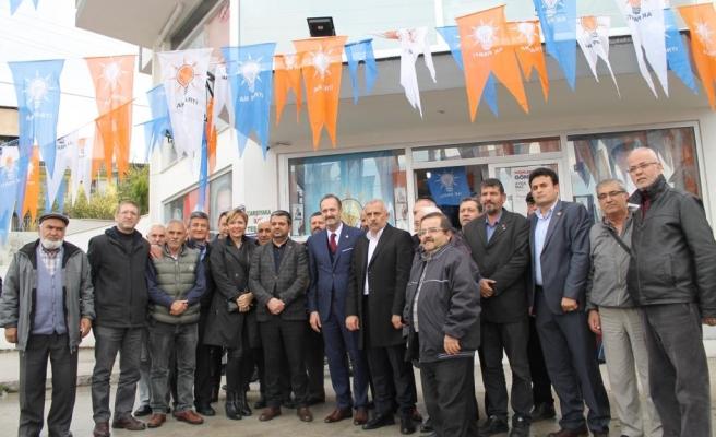 Cumhur İttifakı'ndan Karşıyaka'da yoğun mesai