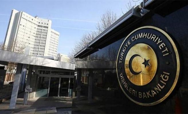 Dışişleri'nden Belçika'ya PKK tepkisi