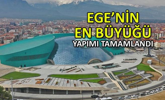 Ege'nin en büyük kongre ve kültür merkezinin tanıtımı yapıldı