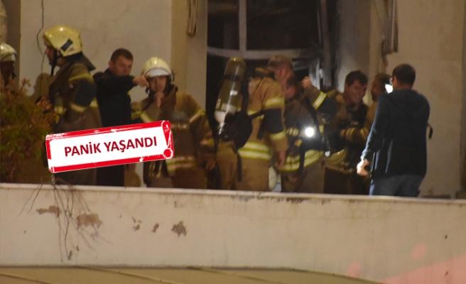 Ege Üniversitesi Hastanesi'de korkutan yangın