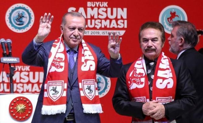 Erdoğan Orhan Gencebay'a seslendi: Müsaade ederseniz ben de kullanırım