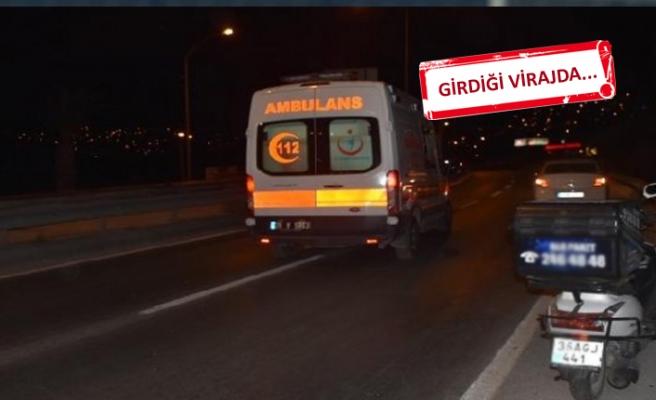 İzmir'de feci kaza: Metrelerce sürüklendi