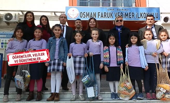 İzmir'de örnek duyarlılık: Atıklardan elde edilen gelirlerle....