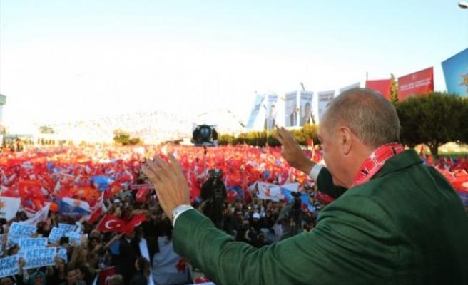 İzmir mitingine kaç kişi katıldı? Erdoğan açıkladı