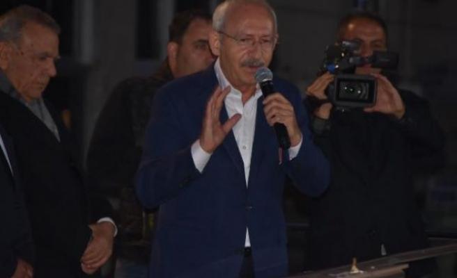 Kılıçdaroğlu'dan Kocaoğlu'na teşekkür