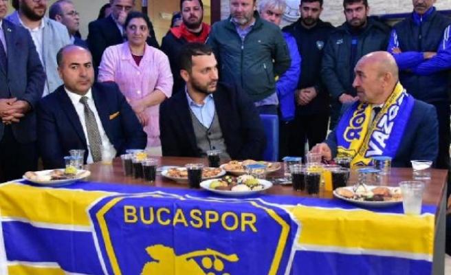 Soyer'den Bucaspor'a ziyaret