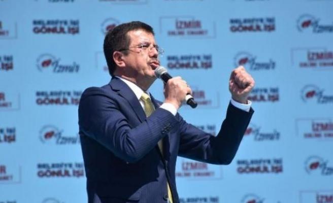Zeybekci: İzmir'e zulüm ediyorlar