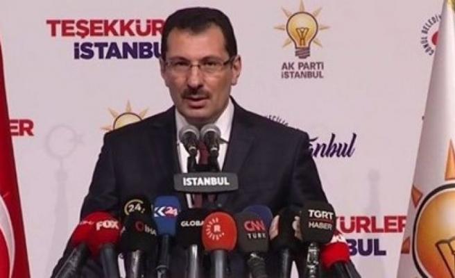 AK Parti'den İstanbul için yeni bir açıklama daha!