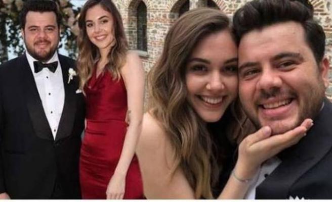 Bebek haberinden sonra apar topar evlendiler
