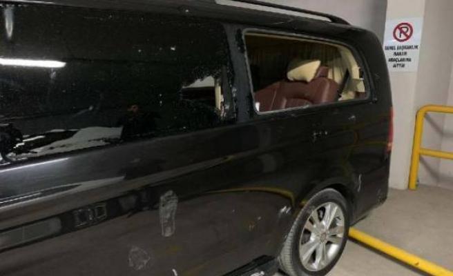 İşte Kılıçdaroğlu'nun camları kırılan aracı