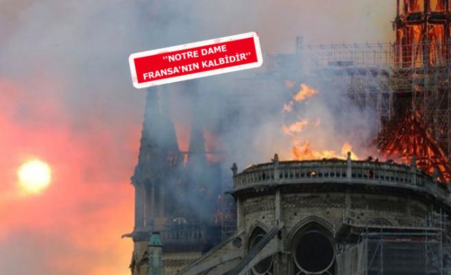 İzmir'den Notre Dame'a can suyu