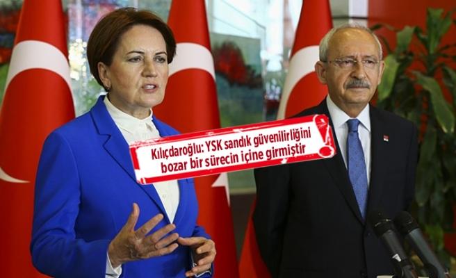 Kılıçdaroğlu Akşener'den ortak açıklama: İstanbul için flaş sözler!