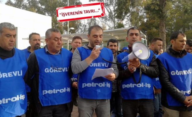 Petrol-İş'ten TÜPRAŞ'ta uyarı eylemi açıklaması