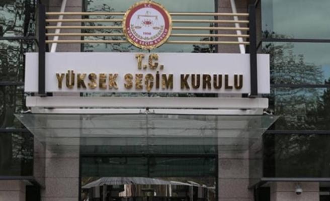 YSK'dan MHP'nin itirazı ile ilgili ara karar