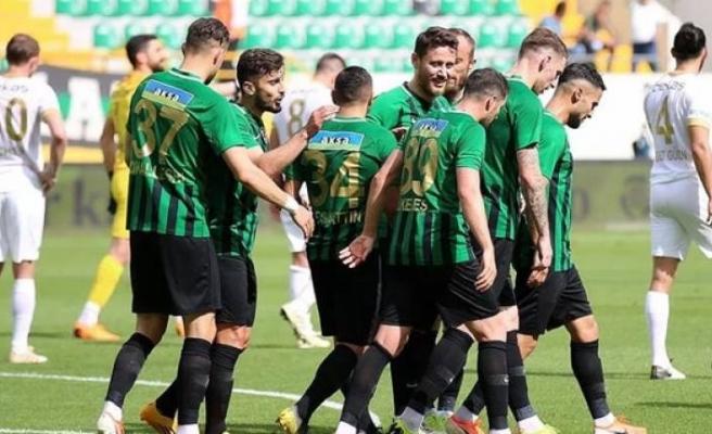 Akhisarspor'un kahır sezonu bitti