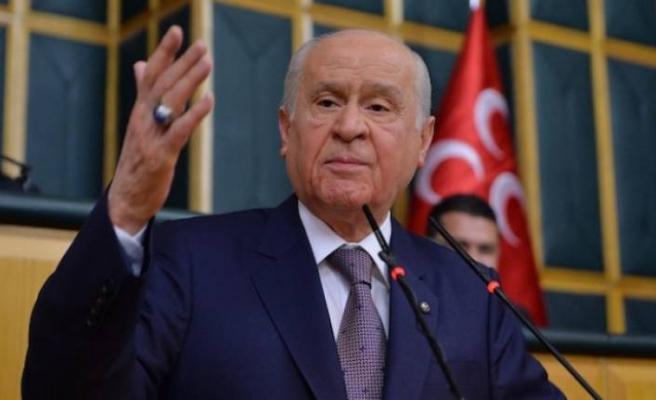 Bahçeli: CHP dünden hazımsız
