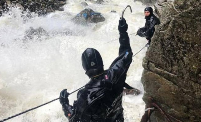 Bayburt'ta suya kapılan 2 asker şehit oldu!