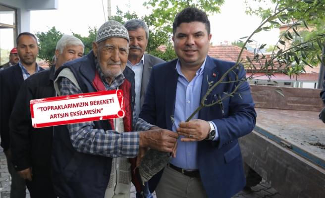 Buca'nın köylerinde zeytin seferberliği