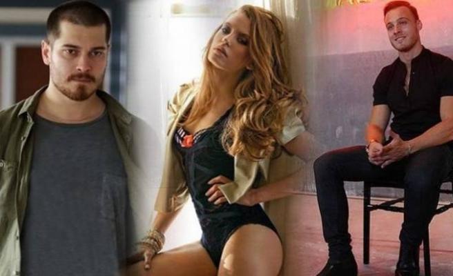 Çağatay Ulusoy, Serenay Sarıkaya'ya göz kırptı