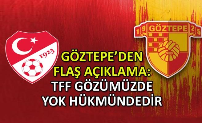 Federasyon kararı sonrası Göztepe'den flaş açıklama
