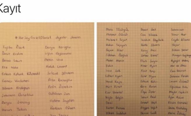 İmamoğlu'na destek veren ünlüleri kara listeye aldı!