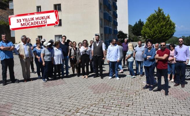 İzmir'de yıkım gerginliği