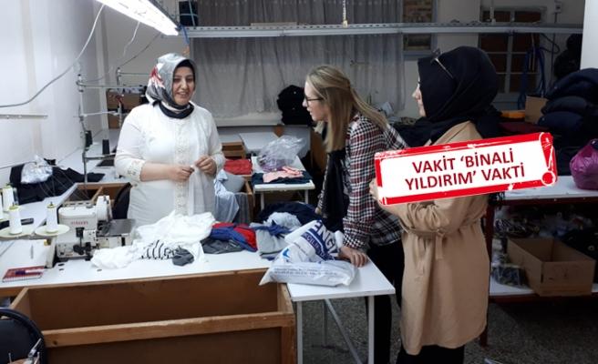 AK Partili Çankırı'dan İstanbul'da  'Binali Yıldırım' mesaisi