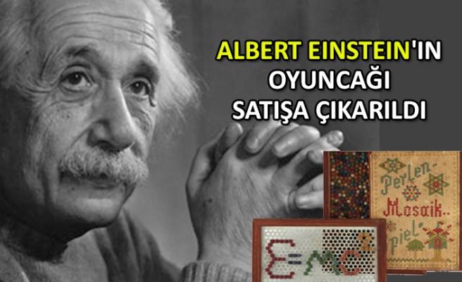 Albert Einstein'ın oyuncağı satışa çıkarıldı