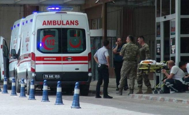 Azez'den acı haber: 1 şehit, 5 yaralı!