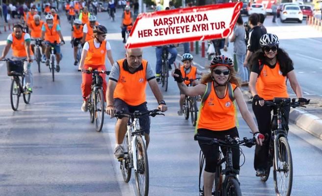 Bisiklet tutkunları Karşıyaka'da buluşuyor