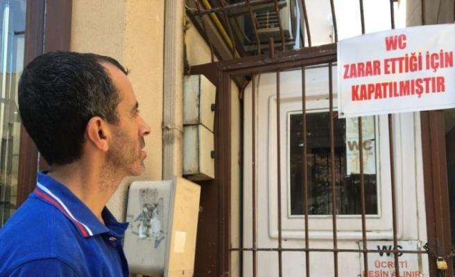 Bursa'da umumi tuvalet 'iflas etti'