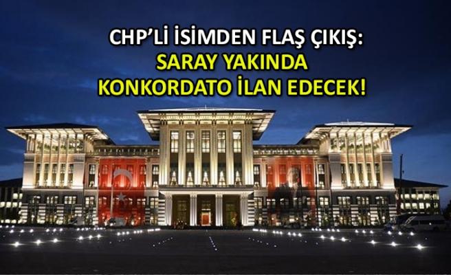 CHP'li Bakan: Saray yakında konkordato ilan edecek