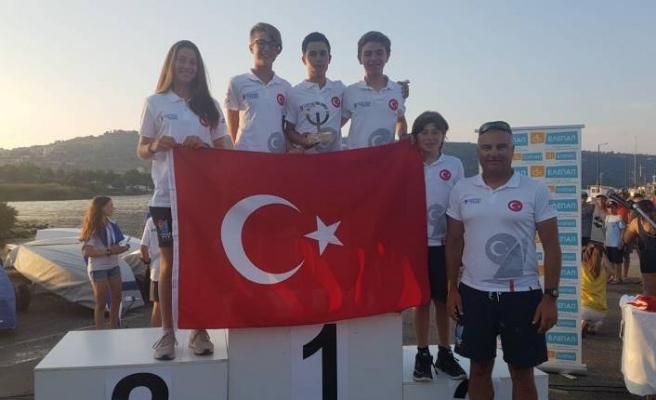 Girit'te Can Ertürk ikinci oldu