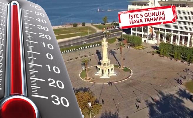 İzmir'de bayramda hava nasıl olacak