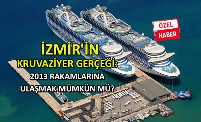 İzmir'in kruvaziyer gerçeği: 2013 rakamlarına ulaşmak mümkün mü?