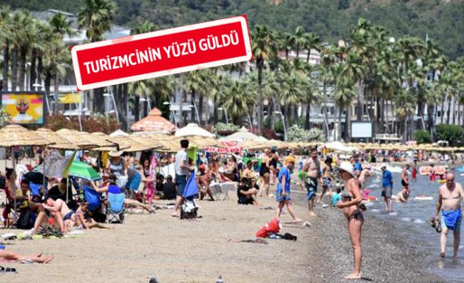 O ilçe bayramda 1 milyon tatilciyi ağırladı