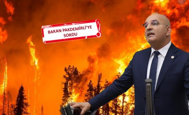 Orman yangınları TBMM gündeminde
