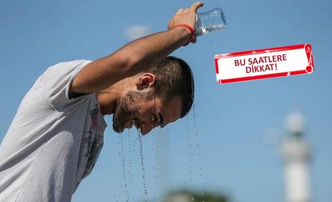 Sağlık Bakanlığından sıcak uyarısı