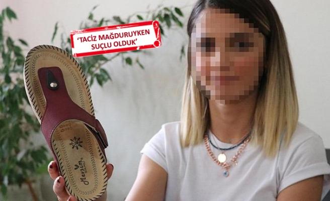 Tacizciye attığı terlik silah sayıldı