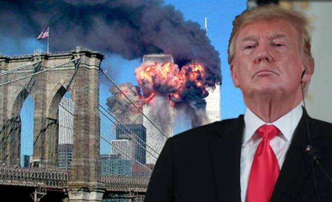 Trump'tan şaşırtan 11 Eylül açıklaması: Kimin yaptığını biliyorum