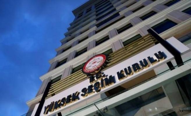 YSK'dan AK Parti'nin 'seçim kurulu' itirazına ret