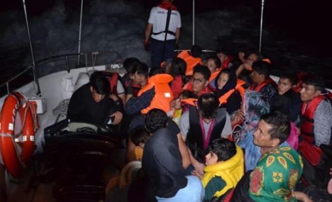 200 kaçak göçmen yakalandı
