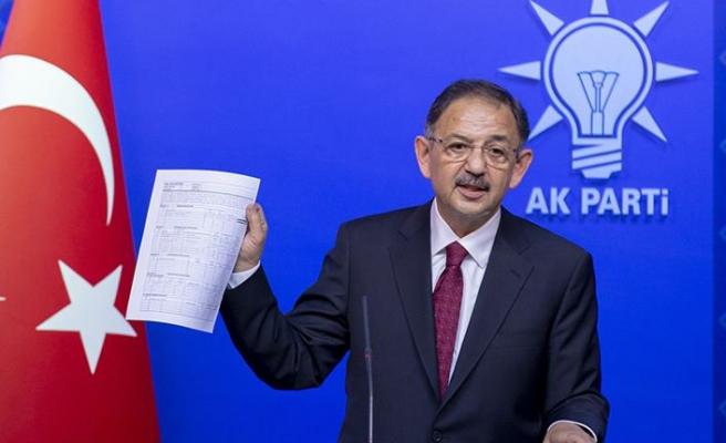 AK Parti'li Özhaseki: Büyükkılıç'ın istifa haberi...