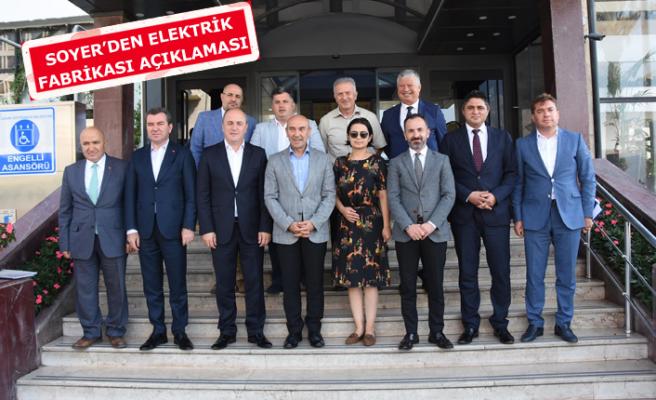AK Partili ve MHP'li başkanlardan Soyer'e ziyaret