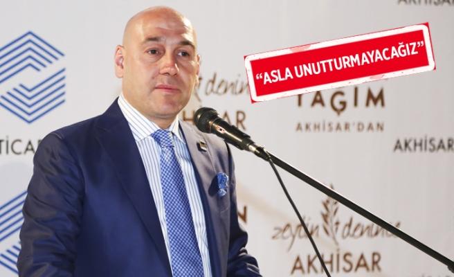 Akhisar Ticaret Borsası Yönetim Kurulu Başkanı Alper Alhat'tan 15 Temmuz mesajı