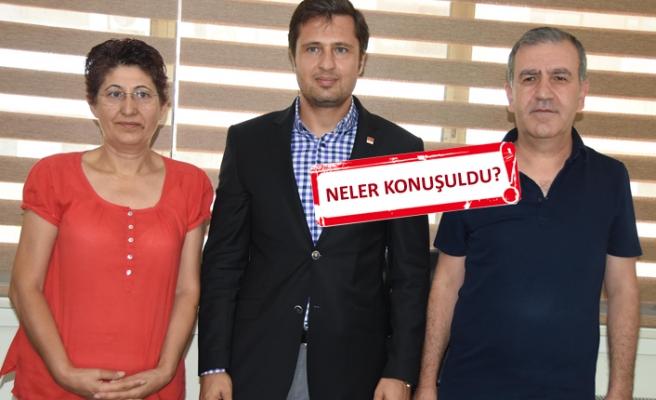 CHP İzmir'den HDP'ye ziyaret