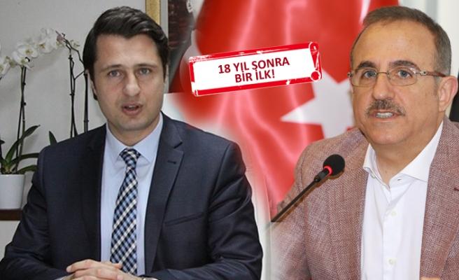 CHP'li Yücel'den AK Parti'ye ziyaret