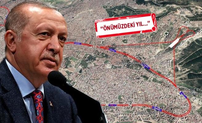 Erdoğan'dan Buca Metrosu için onay