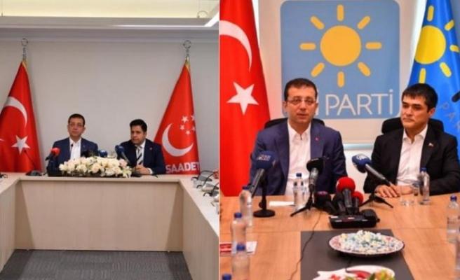İmamoğlu'ndan AK Parti ve MHP sorusuna yanıt