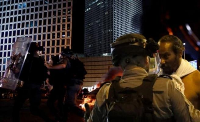 İsrail karıştı! 47 polis yaralandı